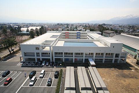 高田高校管理特別教室棟建築工事