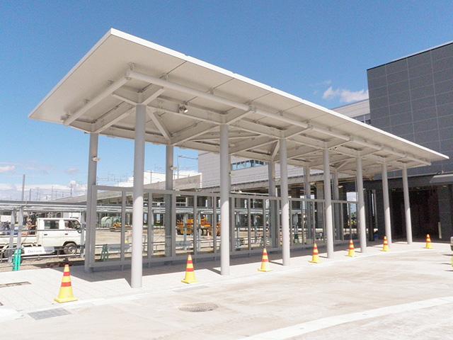 北陸新幹線上越妙高駅西口昇降施設・シェルター新築工事(JV)