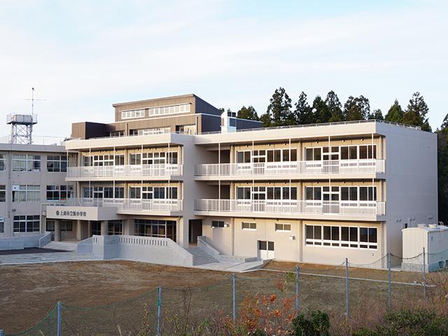 飯小学校北校舎改築工事