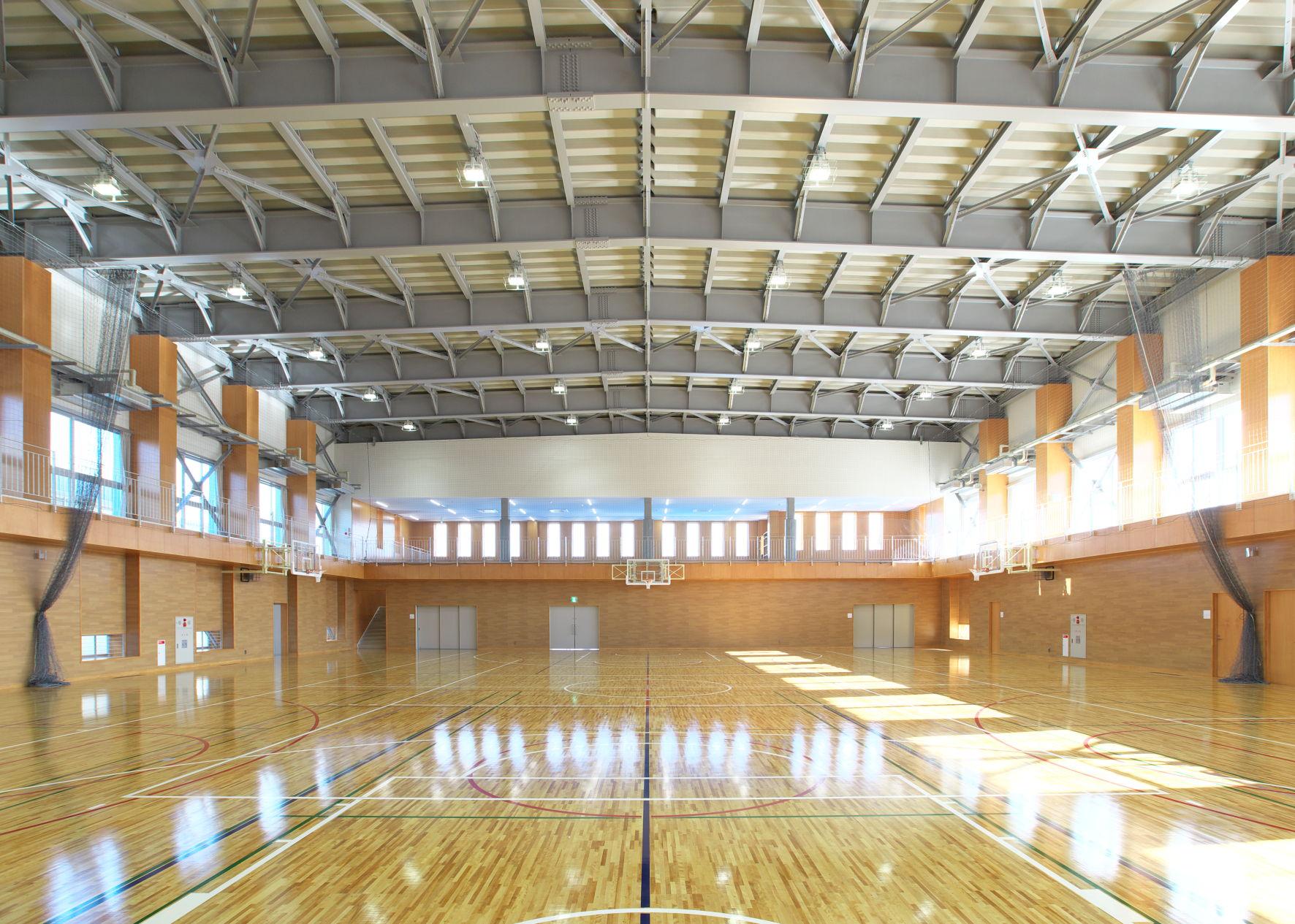 関根学園高等学校第2体育館新築建築工事